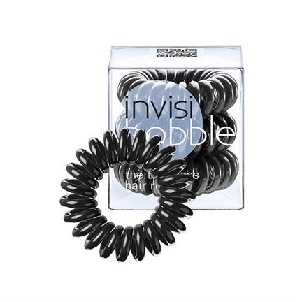 Резинка-браслет для волос invisibobble True Black - фото 4803