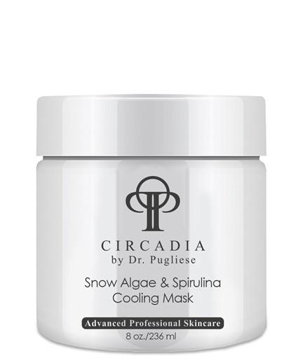 Охлаждающая маска из водорослей Спирулина для лица  / Circadia / набор с семплами - фото 6537