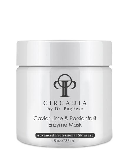 Очищающая маска для лица с энзимами Лайм и Маракуя  / Circadia / набор с семплами - фото 6538