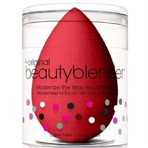 Спонж для макияжа, красный / Beautyblender