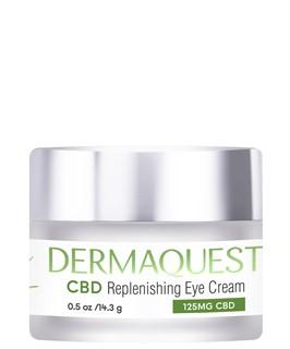 CBD Восстанавливающий крем для кожи вокруг глаз / DermaQuest / набор с семплами